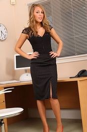 Hot Secretary Stripping 00