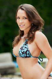 Lily Love skimpy bikini 00