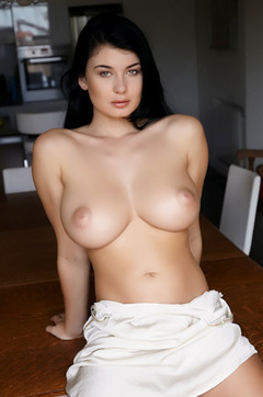 Lucy Li Showing Big Tits And Pussy