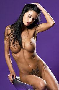 Helena Karel Sexy Nude Babe In Studio
