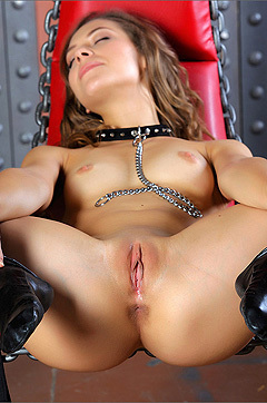 Inez Is Naughty In Chains